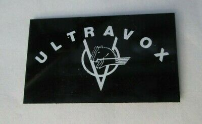 Ultravox Vintage 1982 Post Punk Synth Official Japan Tour Pass Brooch Pin Badge  • 9.99£