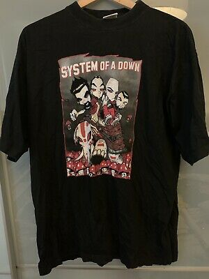 System Of A Down Tour T Shirt • 0.99£