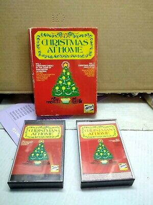 Christmas At Home - Twin Cassette Tapes, Original 1971 Ditto - Tested. • 3£