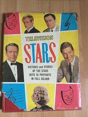 Television Stars Annual , Vintage 1966 ,ok Condition , Great Photos • 4.99£