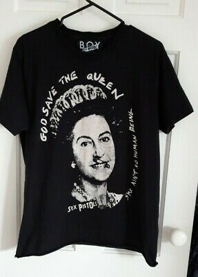 Sex Pistols T-shirt God Save The Queen Never Mind The Bollocks - Boy Size M  • 12.99£