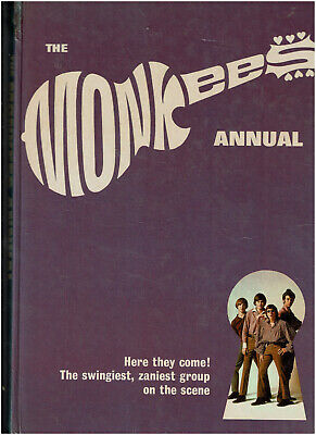 The MONKEES Annual 1967 - Hardback Book 94 Pages VGC • 4£