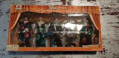 *NSYNC On Tour Marionette Doll Box Set 2000 Justin JC Lance Chris Joey • 30£