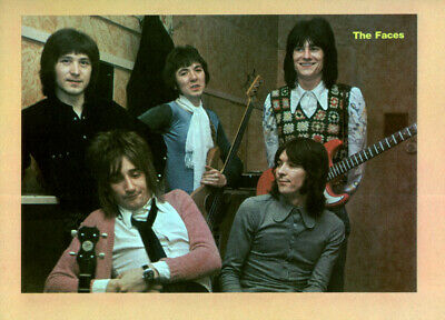The Faces Poster Page . Rod Stewart Ron Wood . Maggie May . Ps74v • 8.99£