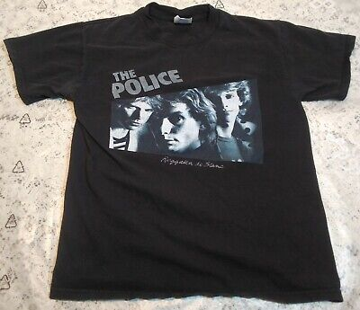 The Police Regatta De Blanc Rock Music Band Mens Navy Blue T-Shirt Size Medium • 7.40£
