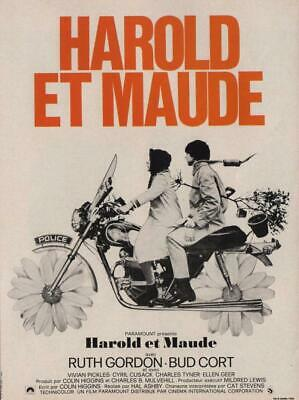 Harold And Maude (French) - Miniature Poster Print • 7.99£
