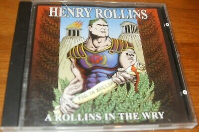 Henry Rollins - Rollins In The Wry A (2001) CD VGC • 4.75£