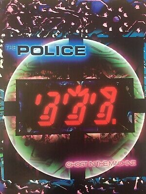 The Police Ghost In The Machine Rare Promo Poster 1981 • 55.56£