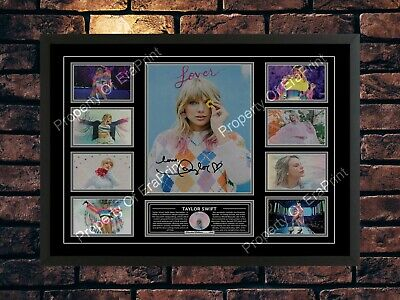 Taylor Swift Signed 2020 Lover Limited Edition Music Memorabilia A4 Photo Print • 7.89£