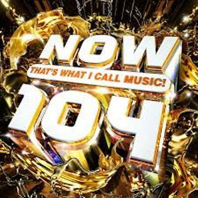 Now That`s What I Call Music 104 (Double CD)  BRAND NEW & SEALED • 5.95£