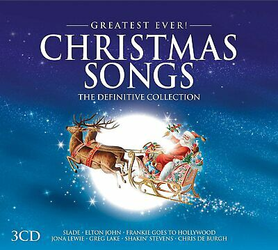 GREATEST EVER CHRISTMAS SONGS The Definitive Collection (2016) 3-CD NEW/SEALED • 3.99£