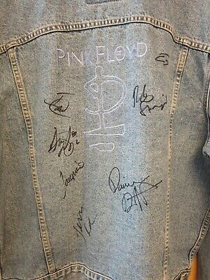 Pink Floyd Denim Jacket XL Signed.  • 300£