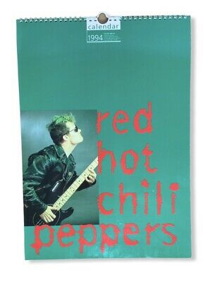 Vintage Red Hot Chilli Peppers Calendar 1994 By Culture Shock • 19.99£