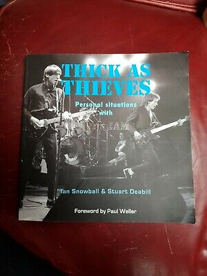 Thick As Thieves: Personal Situations With The Jam Paperback – With Signature • 9£