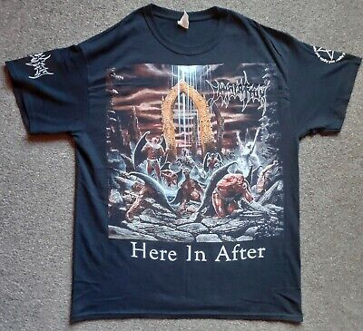IMMOLATION - Here In After T-shirt Size  L  Brand New Rare Death Metal • 30£