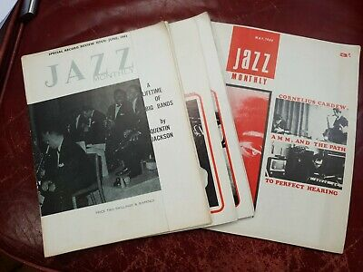 Jazz Monthly Magazines - Eight Issues 1962 - 1968 • 8£