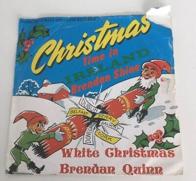 Vintage Christmas Time In Ireland Record Cover/sleeve. By Brendan Shine. • 2.50£