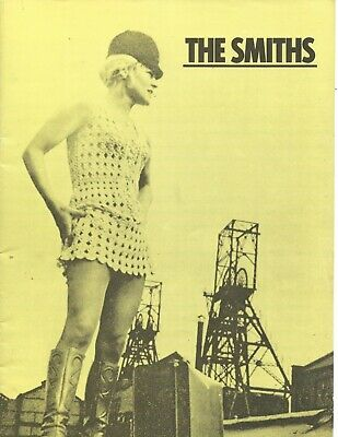 The Smiths Meat Is Murder Uk Tour Programme 1985 Vgc • 25£
