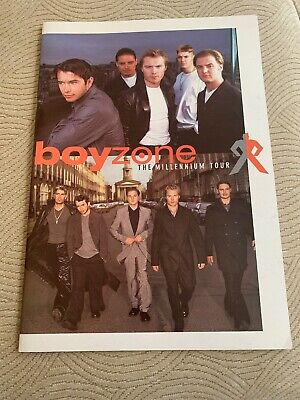 Boyzone Millennium Tour Programme Concert Booklet With Pictures And Info • 12.50£
