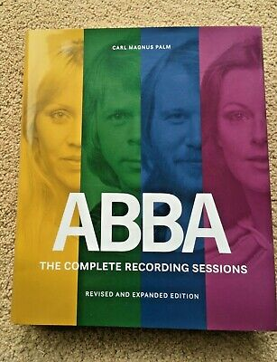 ABBA The Complete Recording Sessions By Carl Magnus Palm 2017 SIGNED • 200£