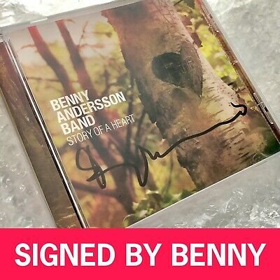 SIGNED ABBA BENNY ANDERSSON CD Rare Genuine Signature Not Agnetha Frida • 25£