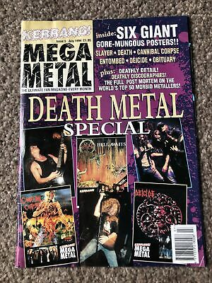 Kerrang Mega Metal Special Issue 5 Death Metal Special • 1£