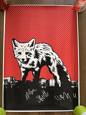 Rare Signed The Prodigy Poster Print, 250 Copies, Keith Flint, Liam Howlett • 150£