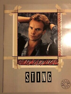 STING World Tour Program Book • 11.11£