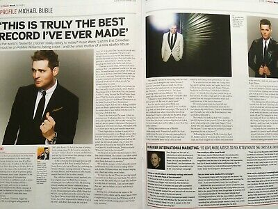 MICHAEL BUBLE - Music Week Industry Magazine  - Buble Feature • 6£