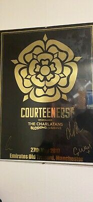 Courteeners Signed Poster • 20.80£