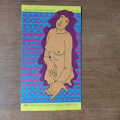 Howling Wolf/Big Brother + The Holding Company Fillmore Postcard • 10£