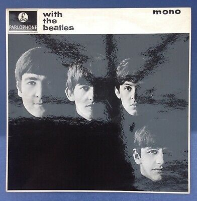 THE BEATLES   WITH THE BEATLES   ORIGINAL MONO UK 2nd PRESSING PMC1206 1963 EX  • 110£