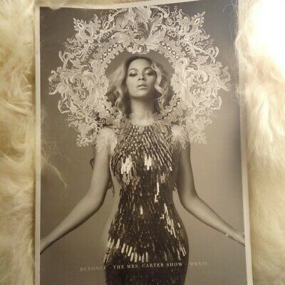 Beyonce Tour Book Mrs Carter World  Tour 2014. Rare. Uk Delivery Only. • 8£
