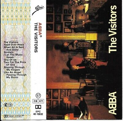 ABBA - The Visitors : Cassette - Like New • 4£