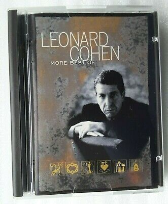 MiniDisc  Leonard Cohen ‎  More Best Of  • 38£