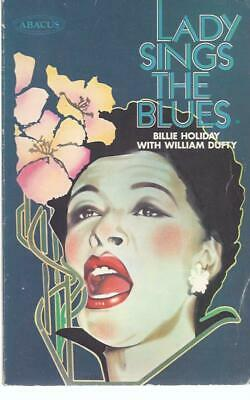 Lady Sings The Blues, Billy Holiday & William Dufty. Abacus Paperback Book • 7£
