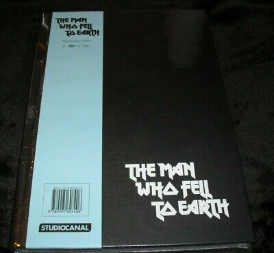 David Bowie - The Man Who Fell To Earth Book.(Sealed)(2016)(Please Read Listing) • 120£