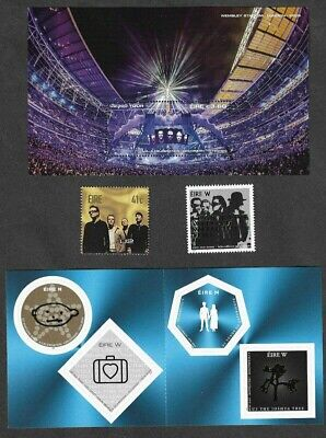 U2 Ireland Stamp Collection-mnh -Scarce Collection- • 19.95£