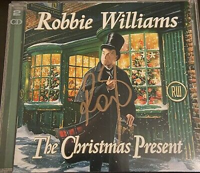Robbie Williams Signed Double Christmas CD • 23.99£