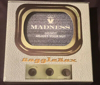 Madness 4 Disc Gogglebox 2010 DVD Boxset Ltd Edition Of Only 500 Rare • 400£
