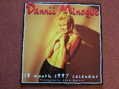 Dannii Minogue Naked / Topless RARE 1997 Calendar Excellent CONDITION For Year • 49.99£