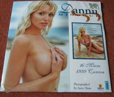 Dannii Minogue Calendar BRAND - RARE BRAND NEW & SEALED CONDITION 1999 • 69.99£