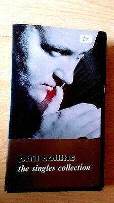 Phil Collins: The Singles Collection VHS Video Virgin Vision No. VVD 594, 1989.  • 3£