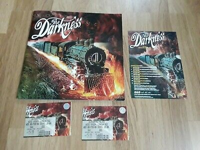The Darkness - One Way Ticket Tour Programme & Tickets. 2006 • 9.99£