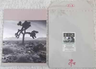 U2: JOSHUA TREE Tour Programme With Envelope And Ticket Stub • 45£