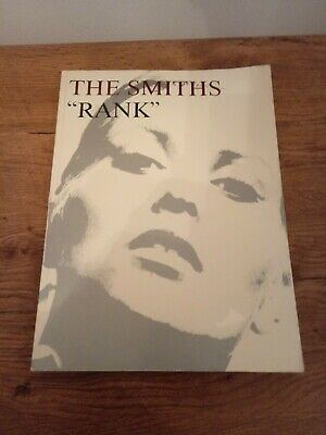 The Smiths Morrissey Rank Rare Songbook And Poster Johnny Marr Rough Trade  • 20£