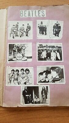 Early Beatles Scrapbook - Newspaper Cuttings/Pages From Early 60's To Early 80's • 5£