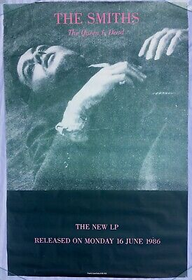 """THE SMITHS """"The Queen Is Dead"""" Original 40"""" X 60"""" Poster • 1,200£"""