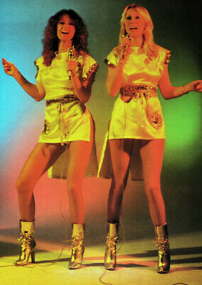 Abba Poster Page . Frida & Agnetha . 0a13  • 19.99£