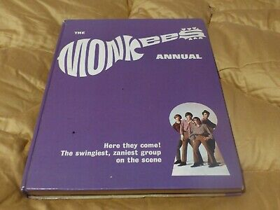 Monkees Annual - 1967 - Zaniest Group On The Scene - Attic Find Item. • 4.99£